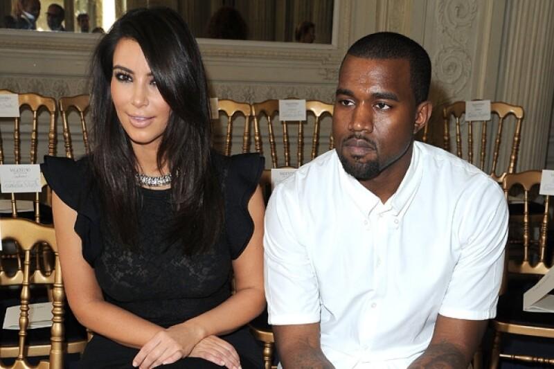 Kanye y Kim suelen ser vistos en Los Ángeles, Nueva York y París.