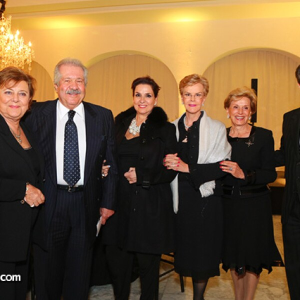 Margarita Díaz Rubio,Gumaro Lizárraga,Carolina Lizárraga,Juanita Ayala,Irma Dubost y Anuar Chafen