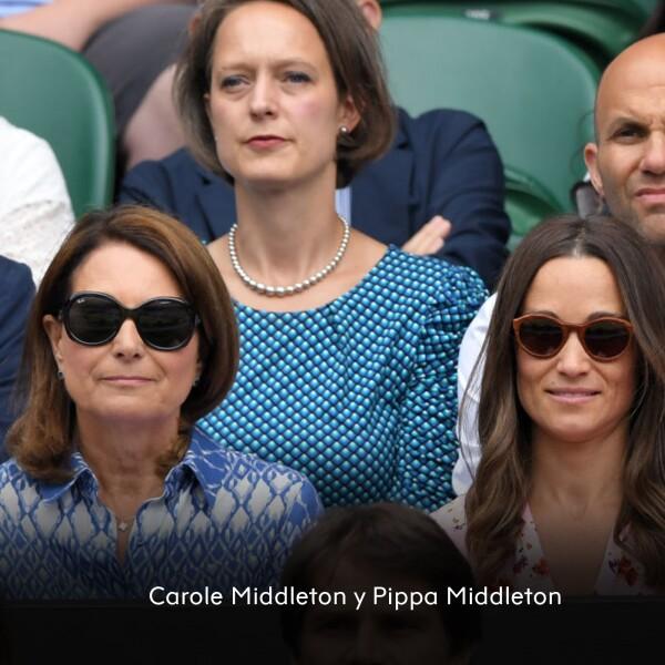 Carole Middleton y Pippa Middleton