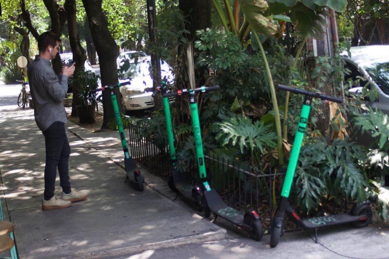 Movilidad - monopatines - Ciudad de México