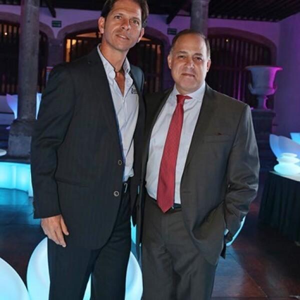 Roberto López y Miguel Ángel Webber