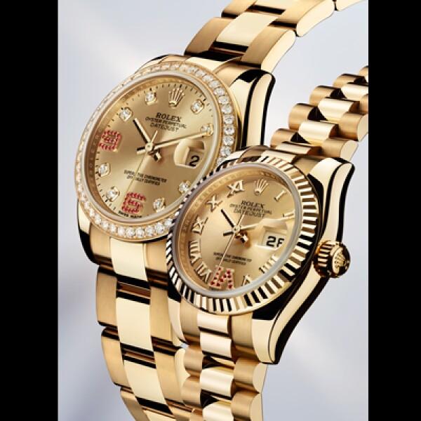 En su versión femenina de 31 y 26 mm en oro amarillo. El primero ofrece numerales en arábigo mientras el segundo los muestra en romano ambos terminados en rubíes. Tienen reserva de marcha de 48 horas y una resistencia al agua de 100 metros.