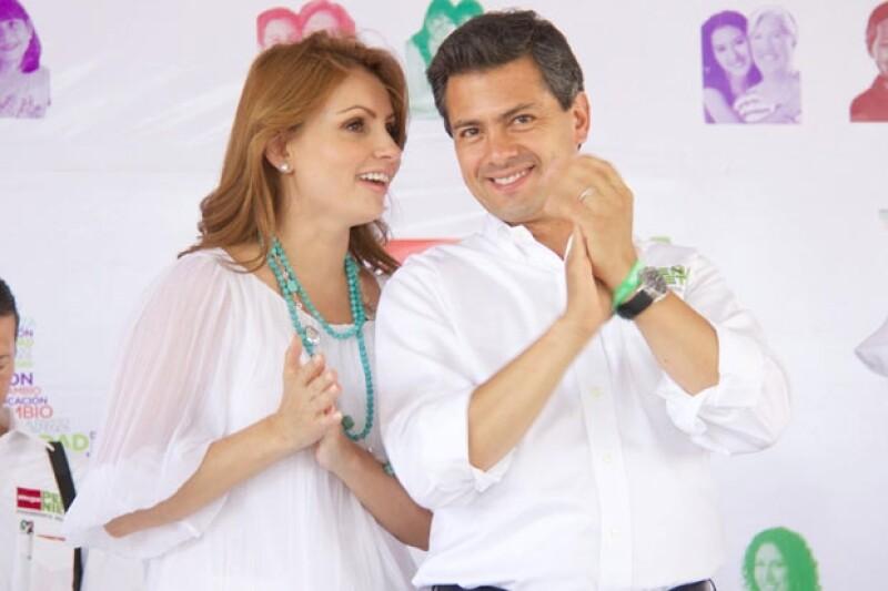 La esposa del presidente electo, Enrique Peña Nieto, está preparando su debut como primera dama del país, pues ya dejó de ser la estrella de las telenovelas.