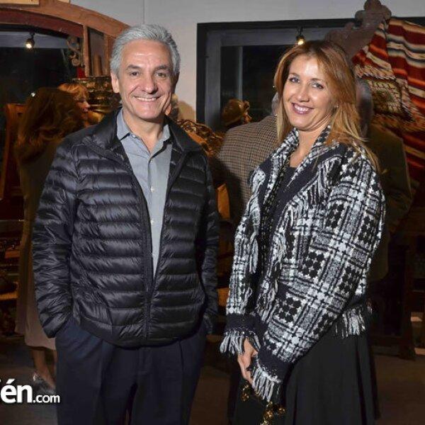 Benito Echeverría y Desireé Navarro