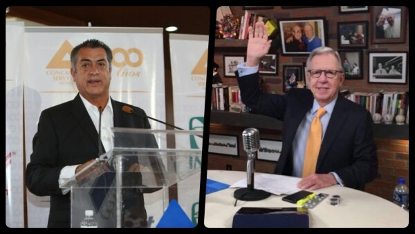 El candidato presidencial Jaime Rodríguez Calderón asistió este miércoles a la reuniónplenaria de presidentesde Cámaras de Comercio, Servicios y Turismo(Concanaco).