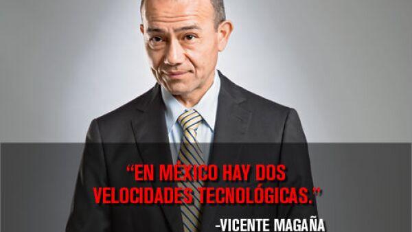 Vicente Maga�a, director general de ABB en M�xico