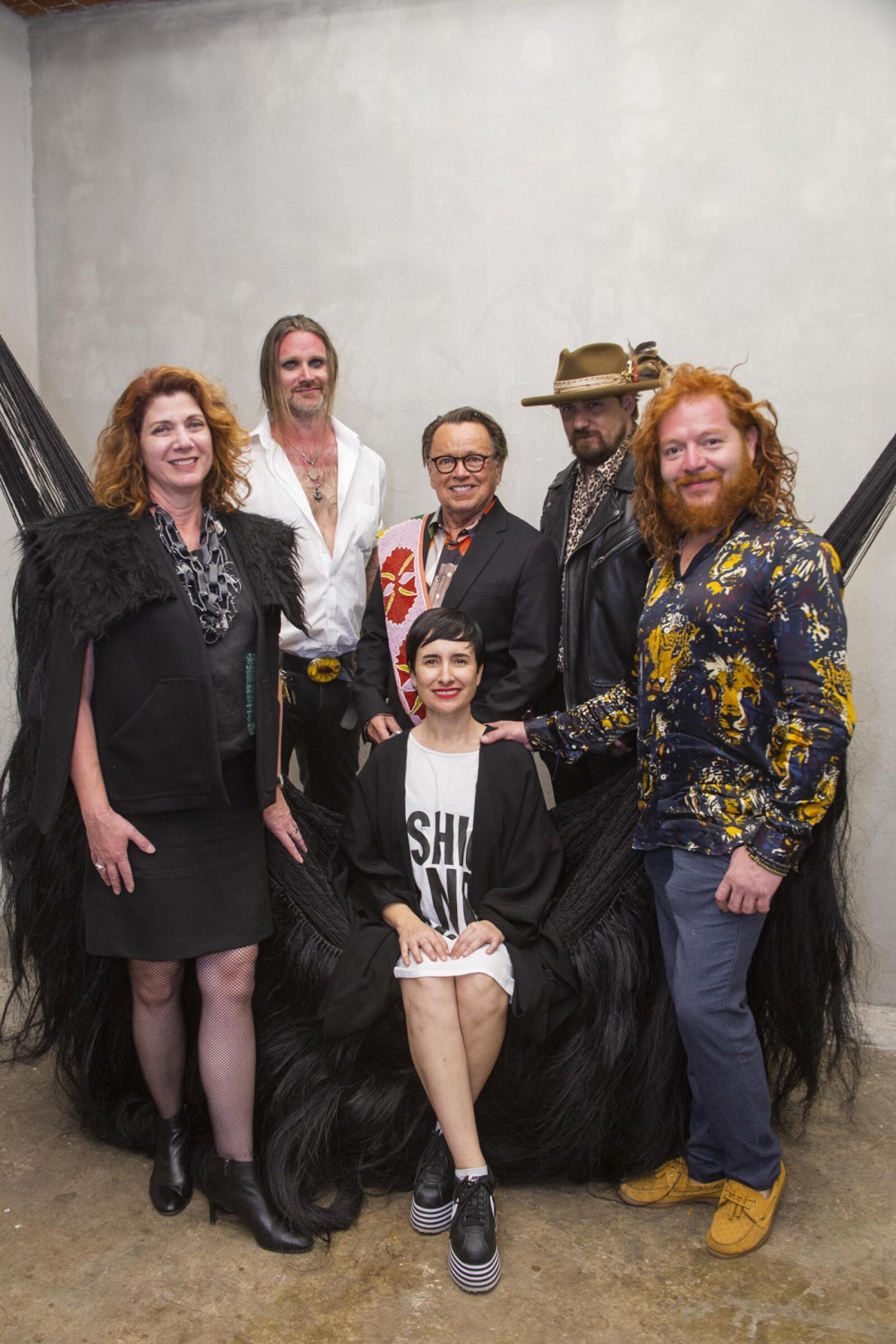 Gail Phinney, Karla Fernandez, PAULOV, AARON Sheppard, JOE baker, MIGUEL López