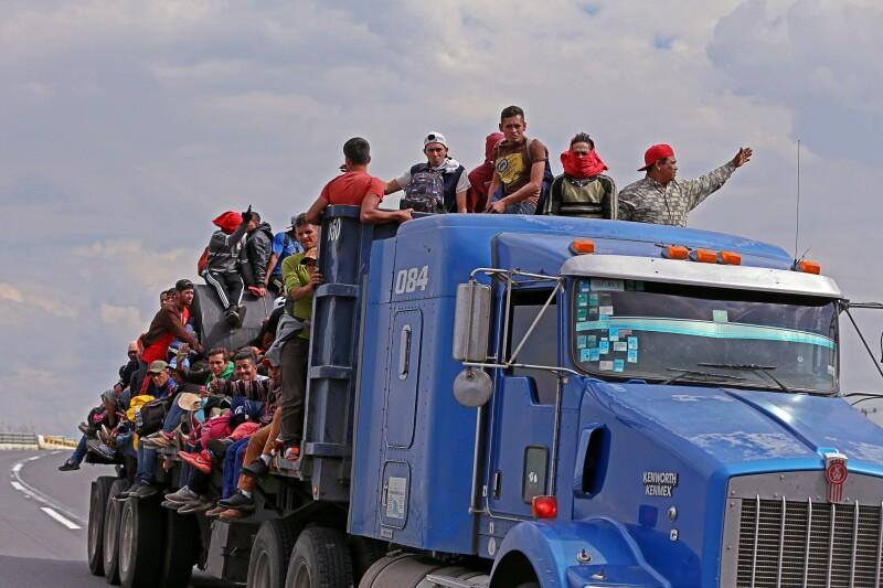 Caravana Migrante Jalisco.