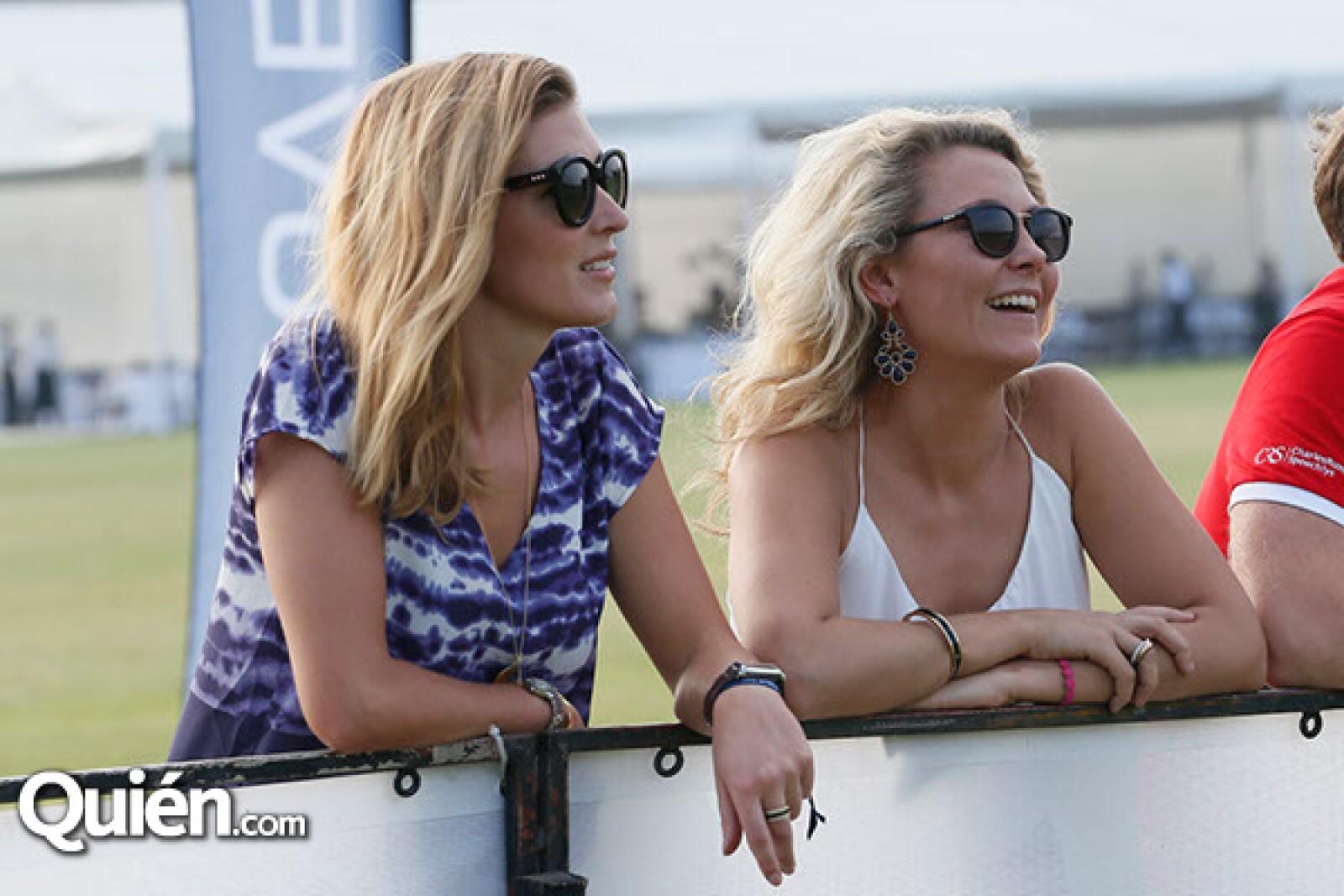 Ginny Langton y Holly Houghton