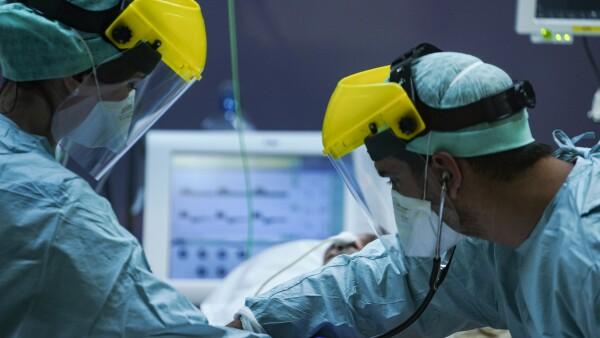 Equipo médico coronavirus