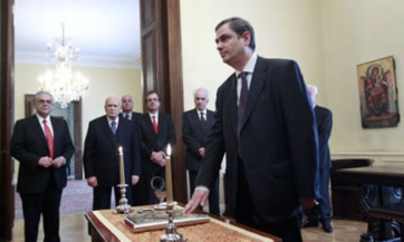 Sachinidis fue viceministro de Finanzas en la coalición de Gobierno que encabeza Lucas Papademos. (Foto: Reuters)