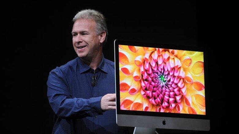 La nueva generación de la iMac es un 80% más delgada que la generación anterior.