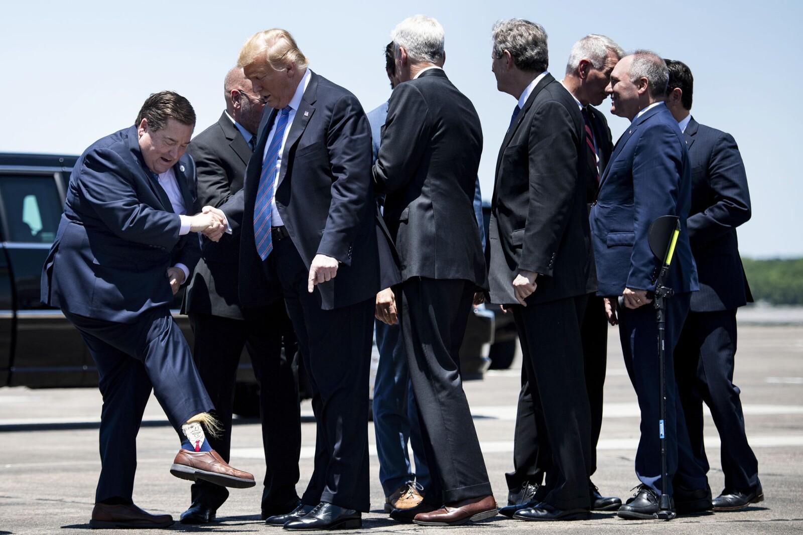 Calcetines Trump