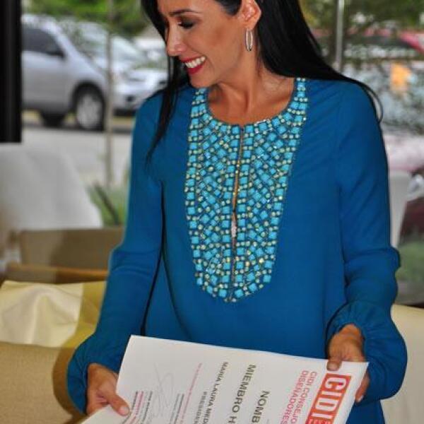 María Laura Medina de Salinas Pliego