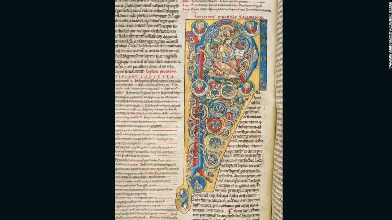 La Biblia de Arnstein (aprox. 1172), Arnstein, Alemania