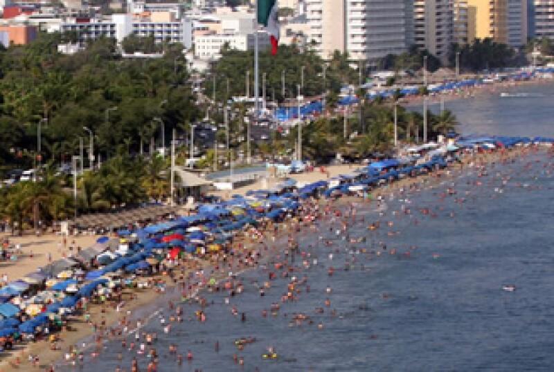Las playas mexicanas son de gran atractivo para los extranjeros. (Foto: Notimex)