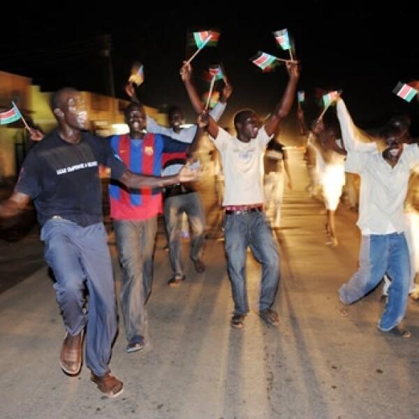 Sudán del Sur - celebración - independencia