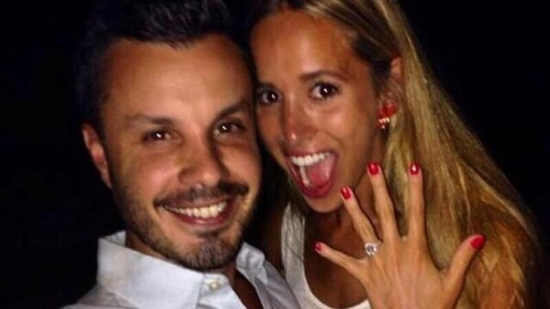 Luego de un año de noviazgo, Javier Díaz pidió matrimonio a su novia Carla Zepeda, instructora de pilates.