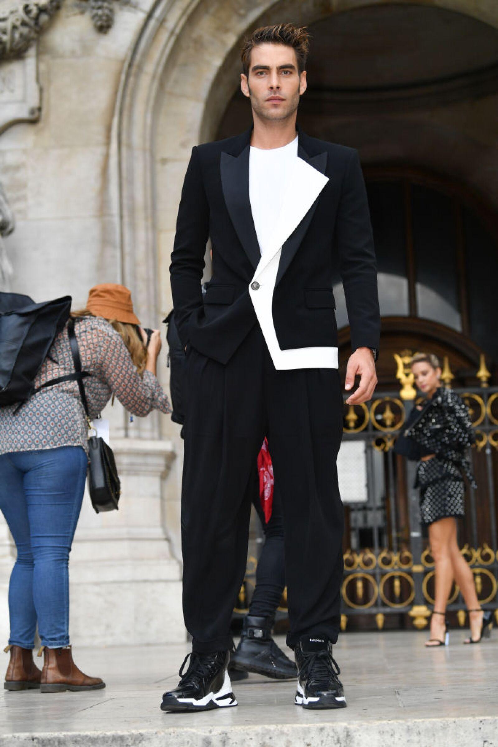 Balmain : Outside Arrivals -  Paris Fashion Week - Womenswear Spring Summer 2020
