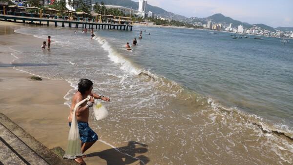 Acapulco playas sucias