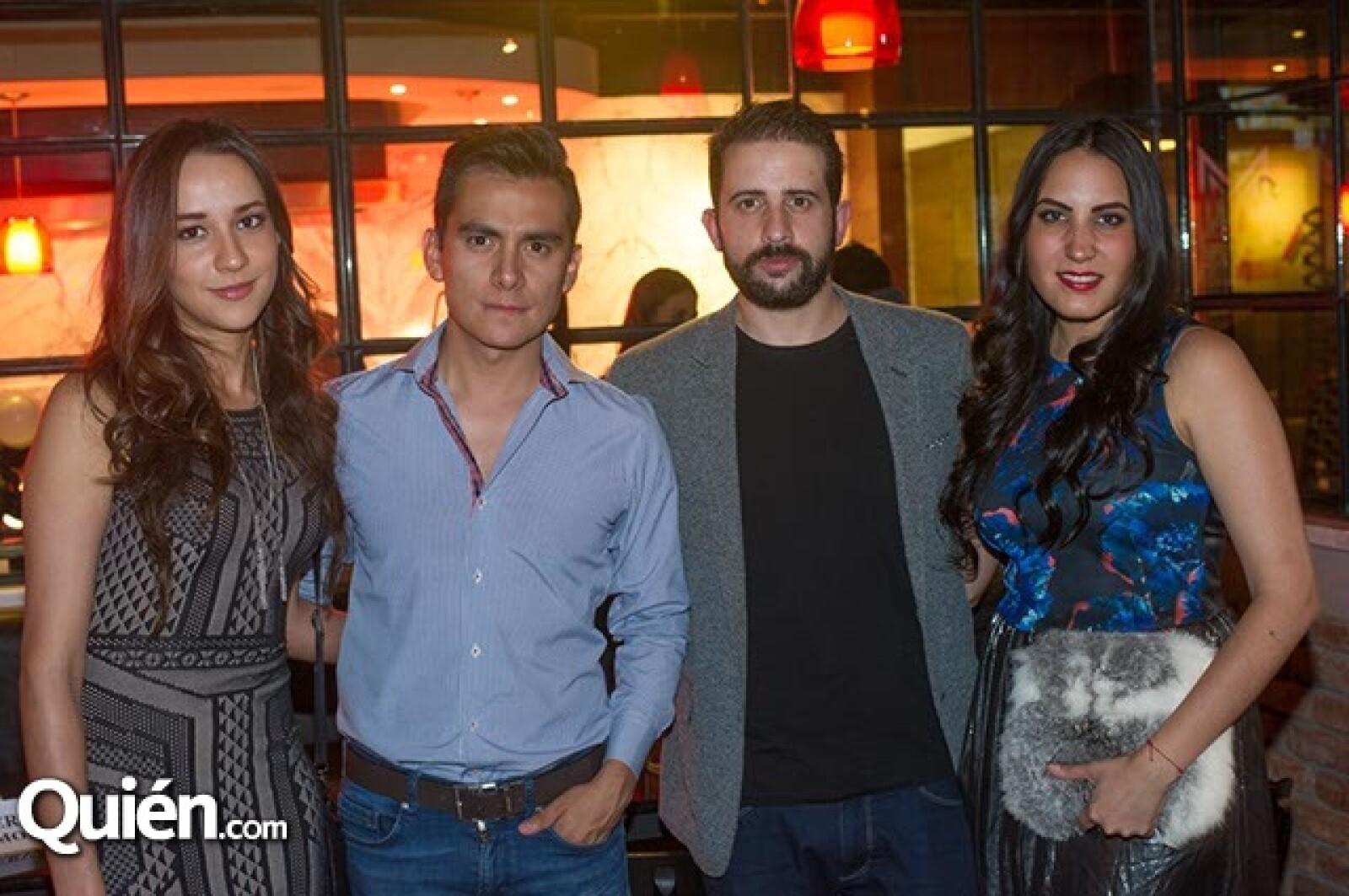Paulina Rocha,Antonio Delgado,Manuel Silva y Iris Carrillo