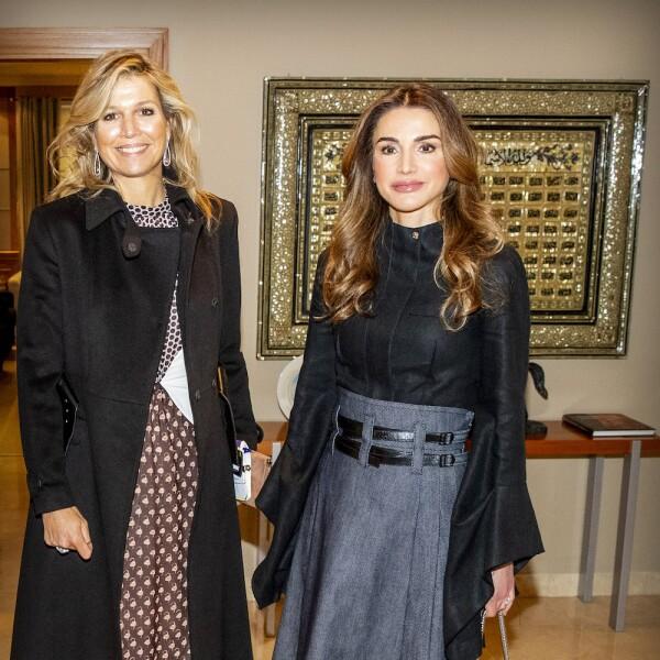 Queen Maxima visits Jordan day 2