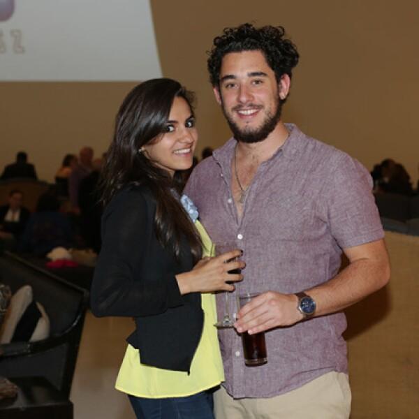 Victoria Cárdenas y Mauricio Quintana