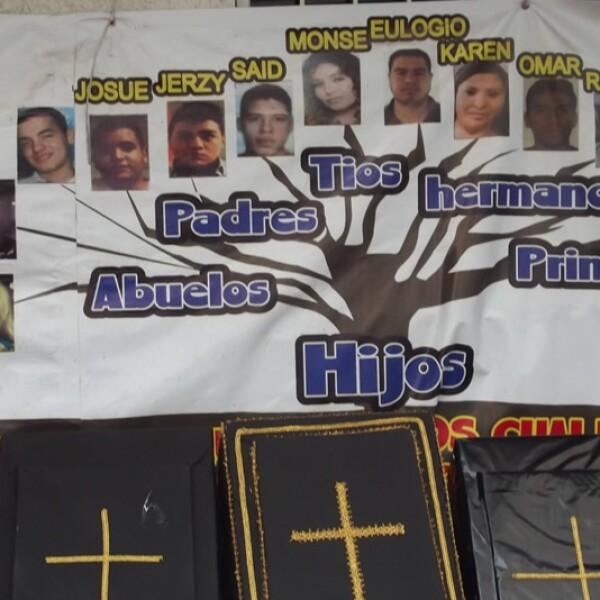 La foto de los jóvenes desaparecidos tras haber sido secuestrados en el bar Heaven de la Ciudad de México