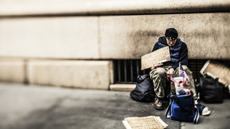 personas sin hogar indigente