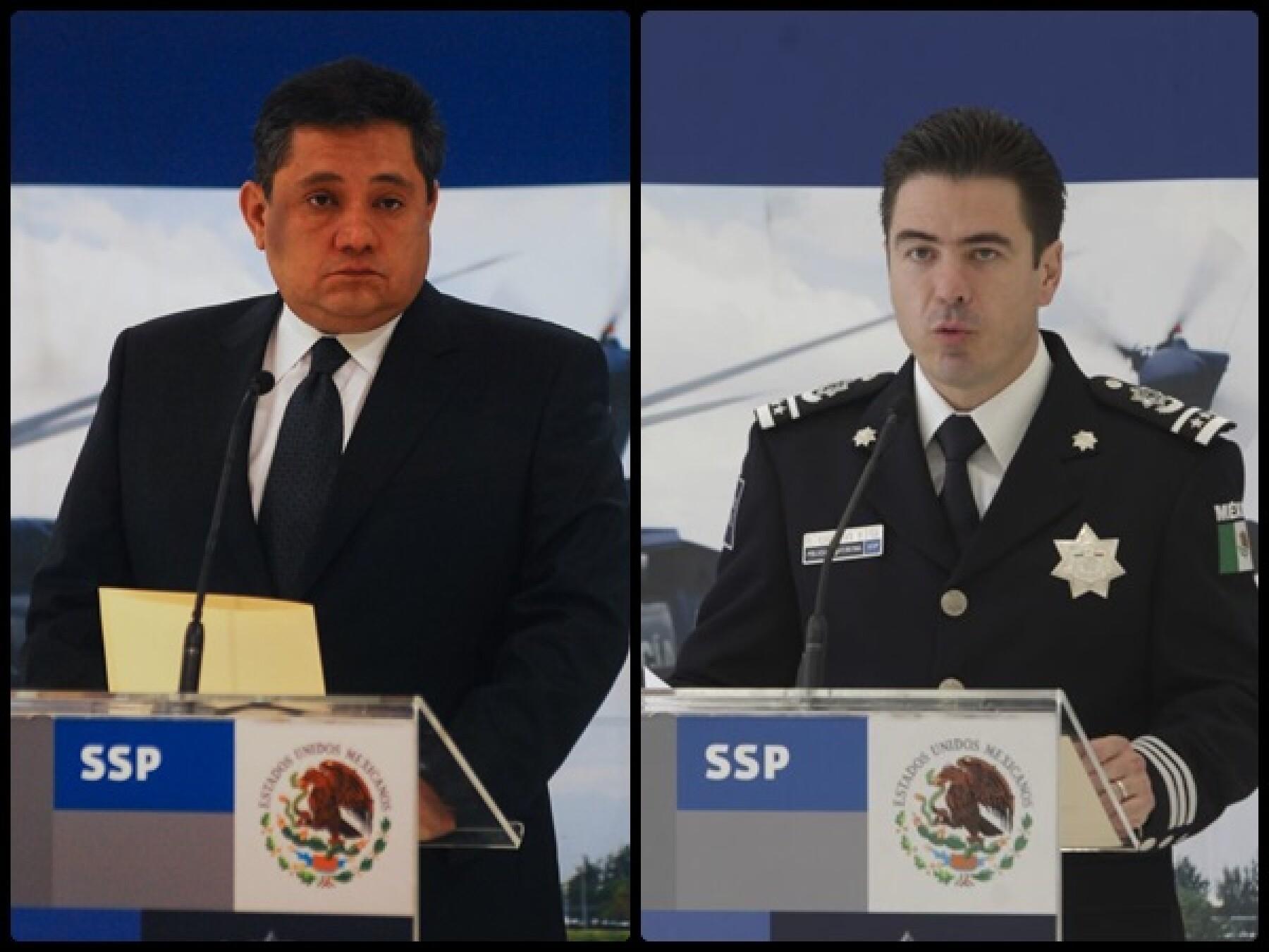 Ramón Pequeño García y Luis Cárdenas Palomino