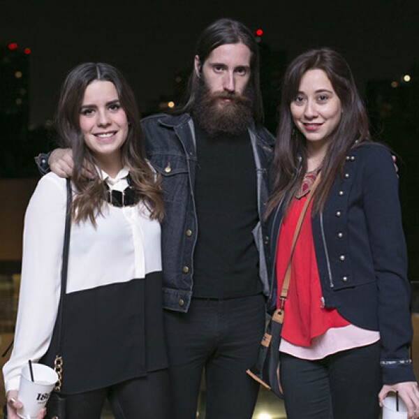 Alejandra Tena,Alberto Perera y Andrea Vez