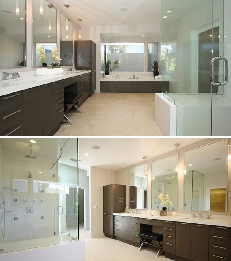 Este es uno de los baños.