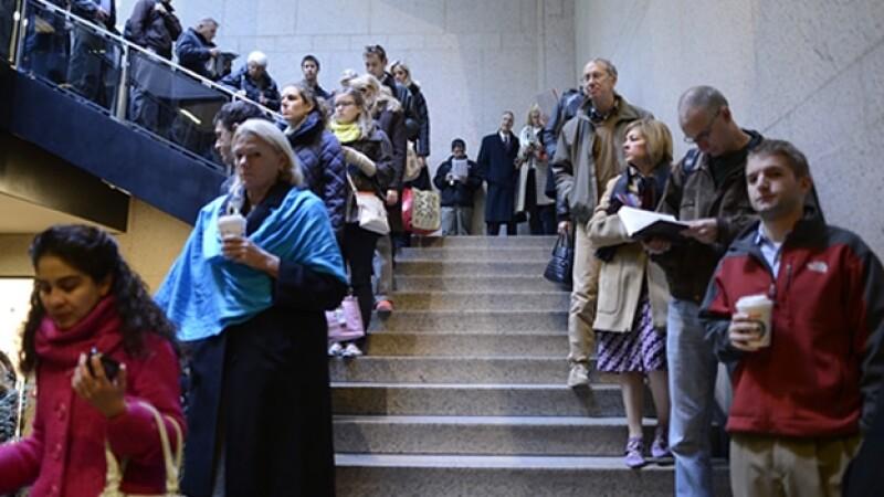 voto elecciones EU biblioteca publica Boston