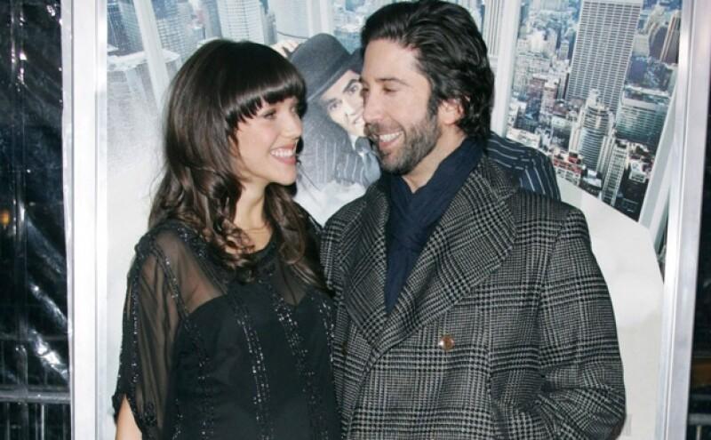 El actor, famoso por su papel de Ross en Friends, recibió a su primera hija, Cleo Buckman Schwimmer, el 8 de mayo.
