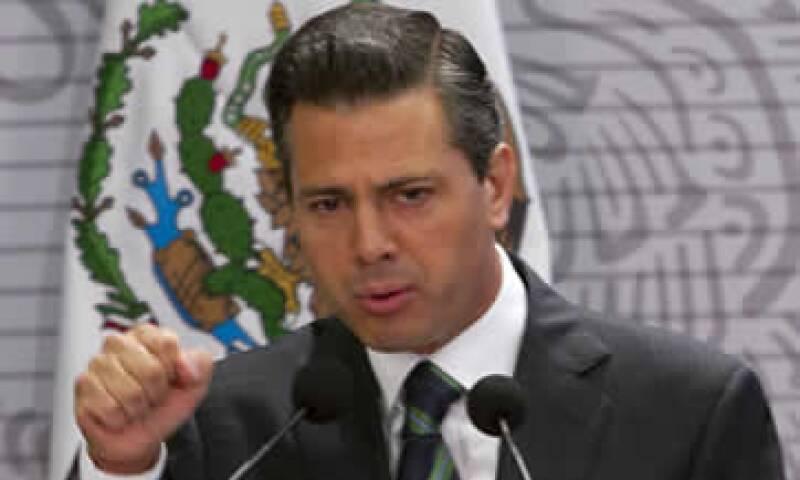 Enrique Peña Nieto aseguró que el nivel de gasto público se ha incrementado. (Foto: Notimex)