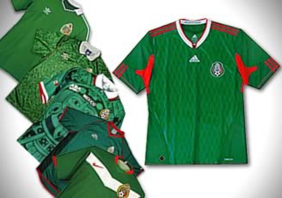 fe909040734b0 Las playeras de México en los mundiales