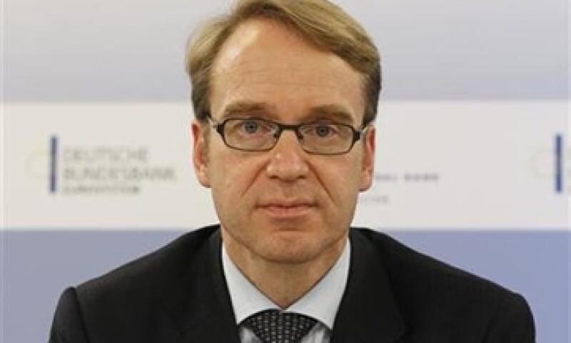 """""""Los riesgos para el sistema financiero alemán han crecido de forma perceptible"""", informó el Bundesbank, que lidera Jens Weidmann. (Foto: Reuters)"""