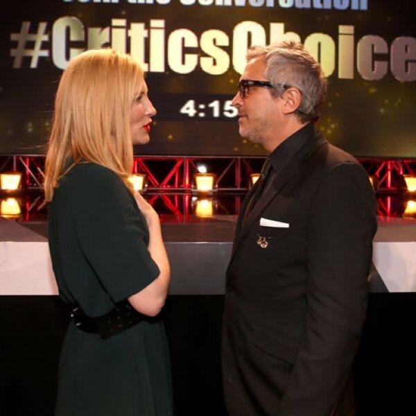 Cate Blanchet y Alfonso Cuarón.