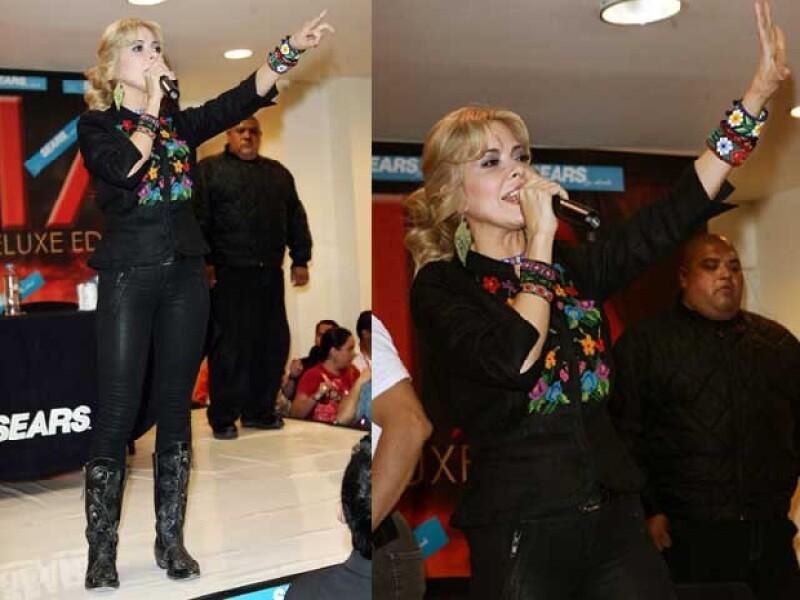 Gloria Trevi comenzará a promocionar su sengundo sencillo Vestida de Azúcar.