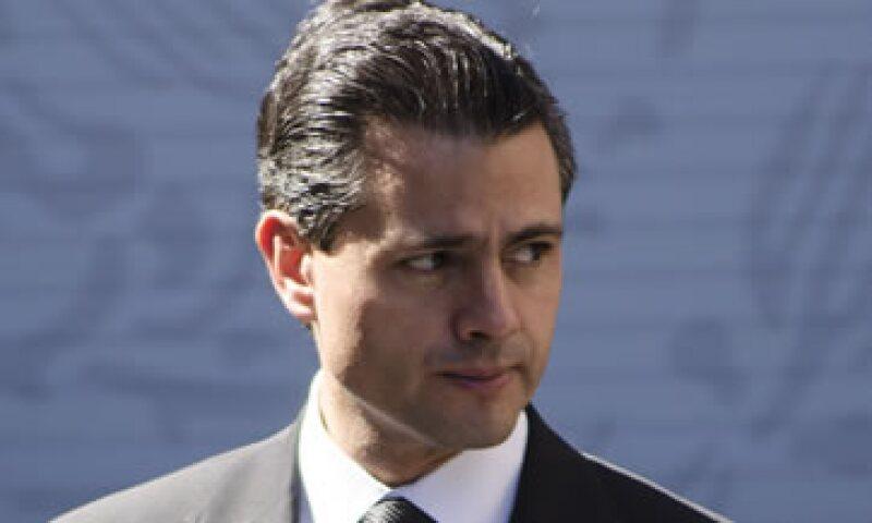 El presidente Enrique Peña Nieto dijo que la reforma enrgética impulsará el crecimiento económico. (Foto: Cuartoscuro)