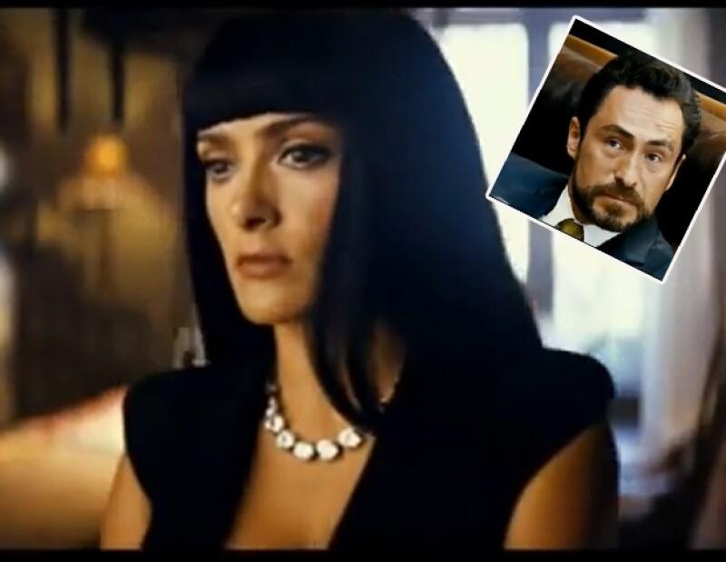 La actriz mexicana dará vida a una narcotraficante en la nueva película `Savages´; el trailer se estreno en internet, el viernes.