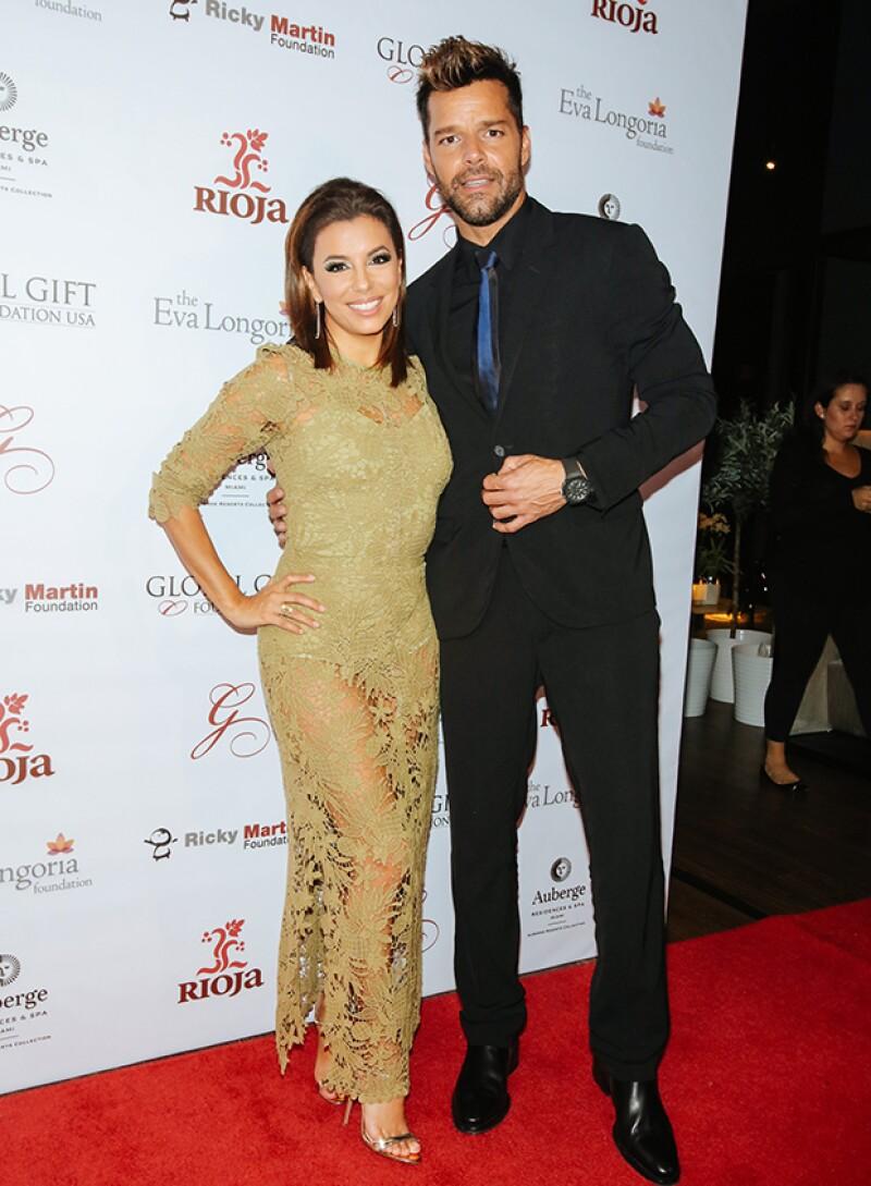 La actriz y el cantante coincidieron ayer en la gala benéfica The Global Gift, celebrada en Miami, donde fuimos testigos de su gran amistad y objetivos comunes.