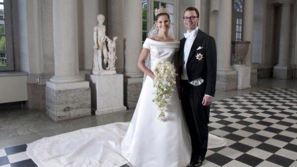 Como el de la futura reina de Suecia, Victoria, diseñado por el sueco Par Engsheden.
