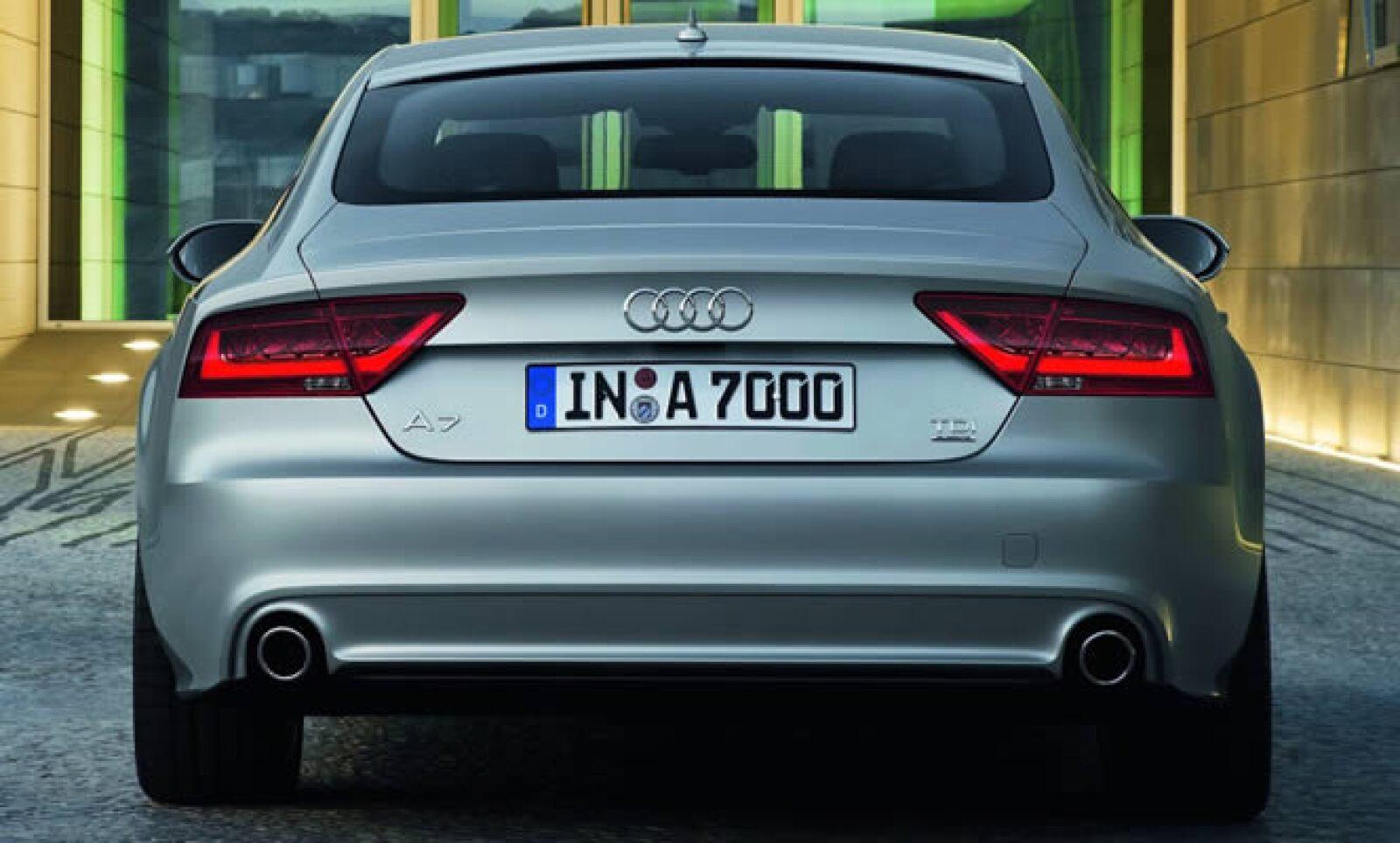Competirá contra la serie 6 de BMW y el CLS de Mercedes-Benz.