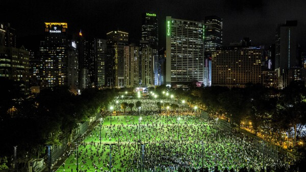 HONG KONG-CHINA-POLITICS-UNREST-TIANANMEN
