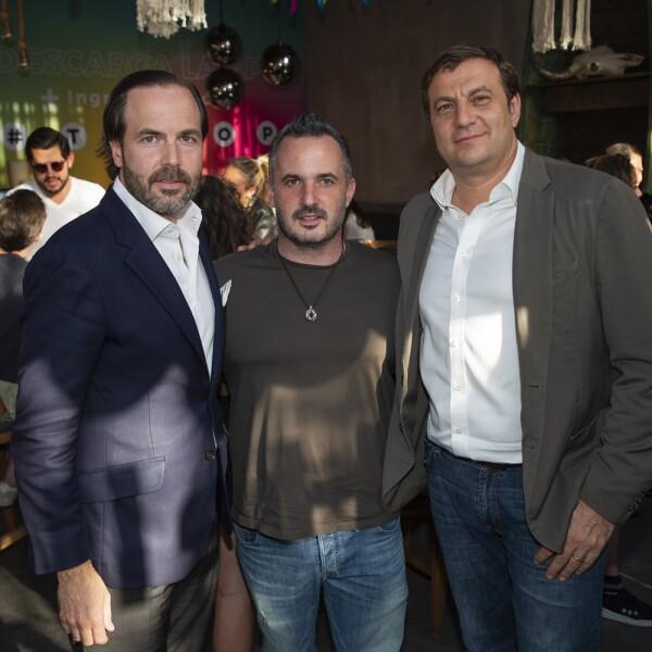 Joaquin Colino, Aby Lijtszain, Stephan Fernandez