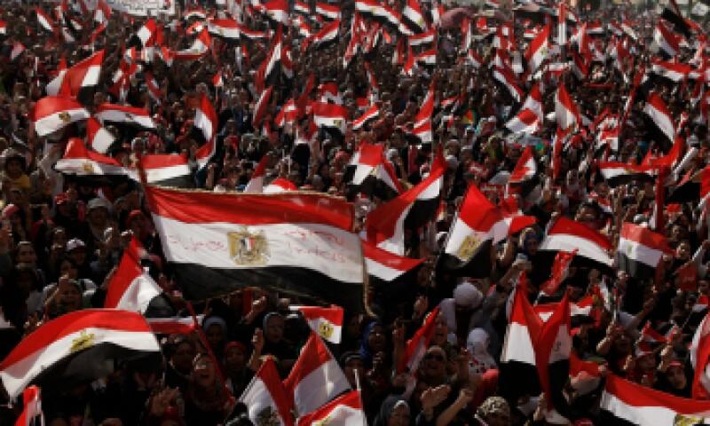 Los incidentes de los que se acusó al niño tuvieron lugar durante protestas de los partidarios de Mohamed Morsy. (Foto: Getty Images)