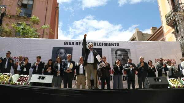 AMLO en Zacatecas