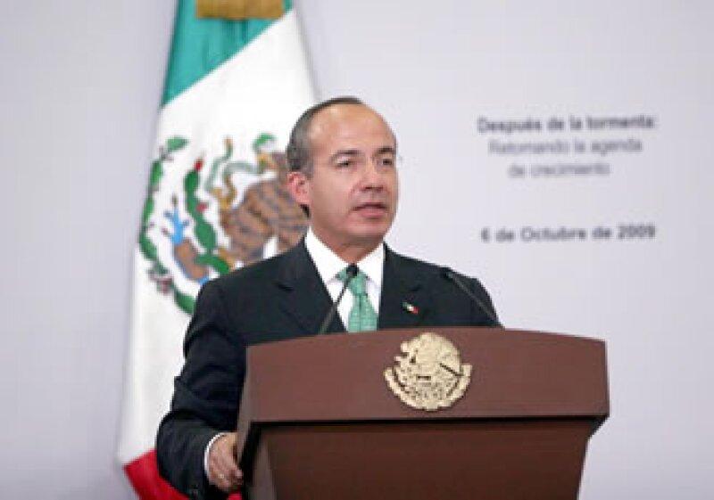 Calderón indicó que la economía suma cuatro meses consecutivos con tasas positivas de generación de empleo. (Foto: Notimex)