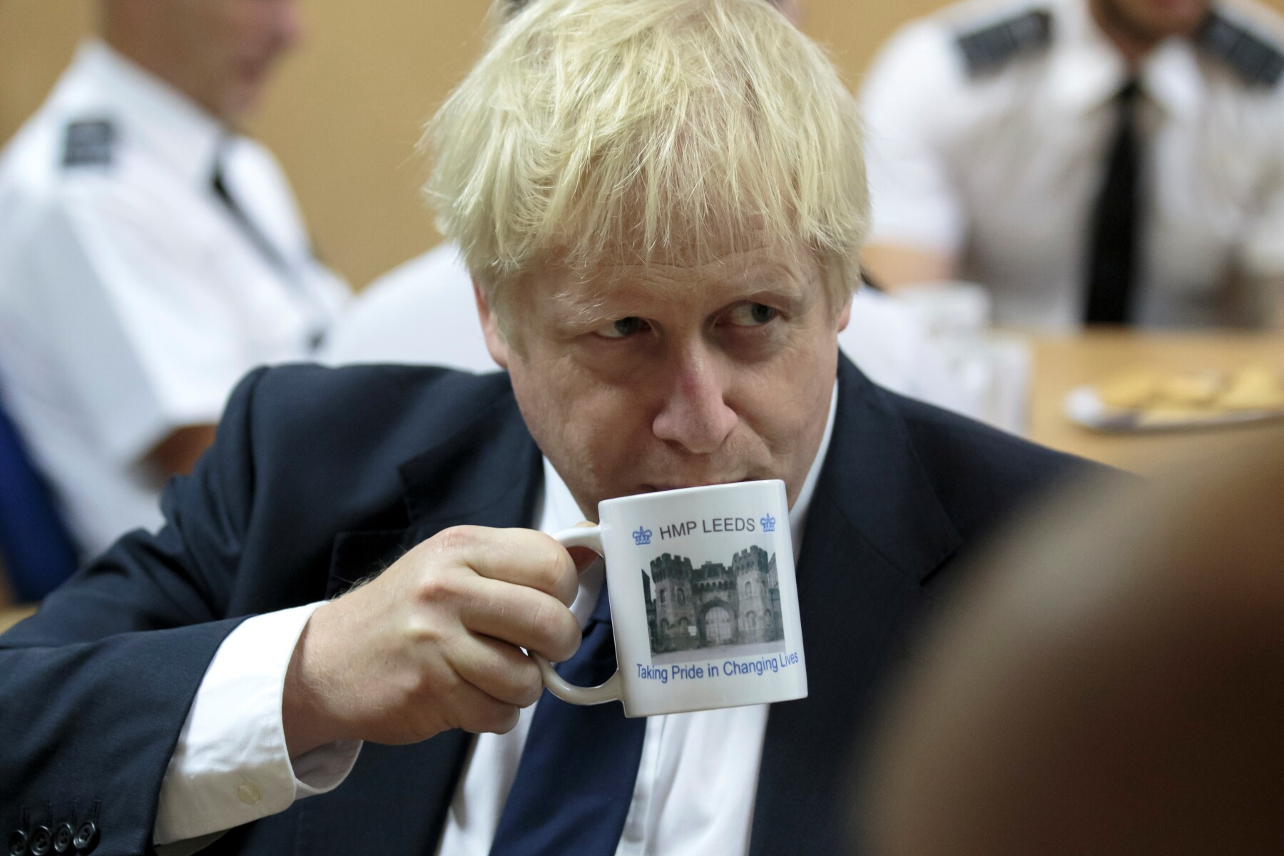Primer ministro Boris Johnson